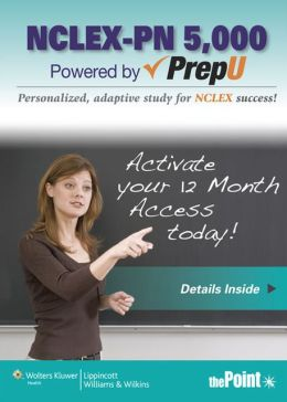 NCLEX-PN 5000 Powered by PrepU