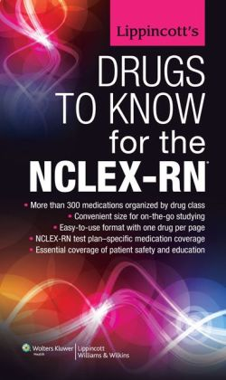 Lippincott's Drugs to Know for the NCLEX-RN