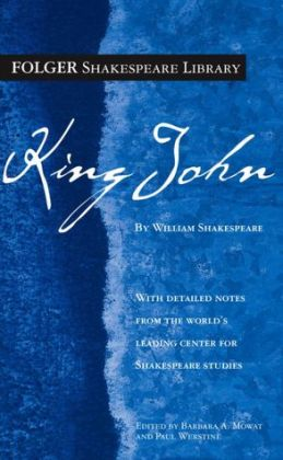 King John (Folger Shakespeare Library Series) (PagePerfect NOOK Book)