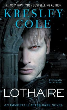 The cover of Lothaire by Kresley Cole