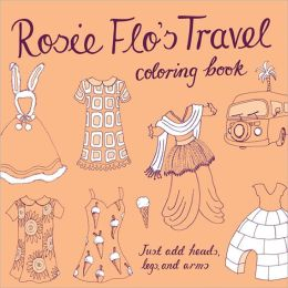 Rosie Flo's Travel Coloring Book