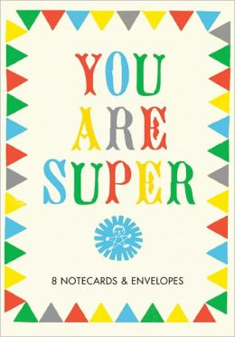 Small Object You Are Super Thank-You Notecards