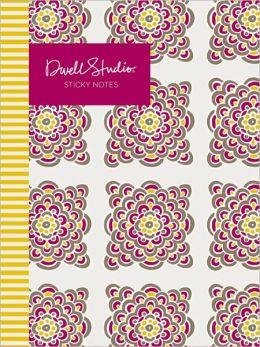 DwellStudio Floral Bursts Sticky Notes