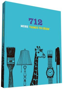 712 More Things to Draw Journal