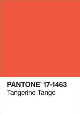 Pantone Tangerine Tango 2012 Color of the Year Journal