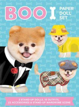 Boo Paper Doll Set
