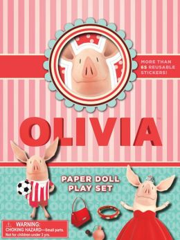 Olivia Paper Doll Play Set Ian Falconer
