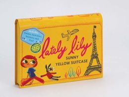 Lately Lily Sunny Yellow Suitcase