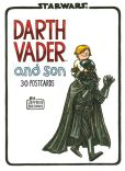 Product Image. Title: Darth Vader and Son Postcard book