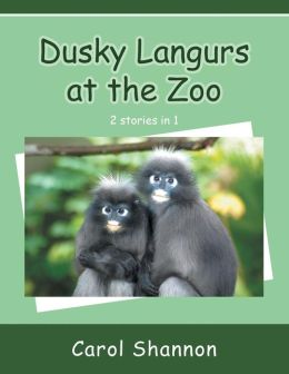 Dusky Langurs at the Zoo