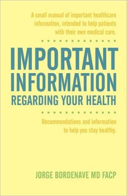 Important Information Regarding Your Health / Informaci N Importante De La Salud