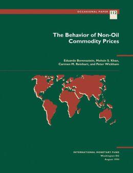 The Behavior of Non-Oil Commodity Prices