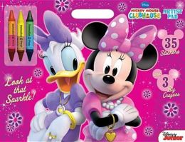 Disney Mickey Mouse Clubhouse-Look at That Sparkle!: Artist Pad with Stickers and Big Crayons