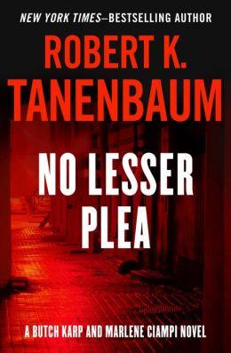 No Lesser Plea (Butch Karp Series #1)