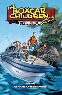 Surprise Island: The Boxcar Children Graphic Novels (Book Two)
