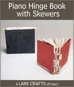 Piano Hinge Book with Skewers eProject