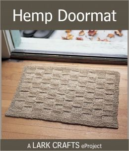 Hemp Doormat eProject from The Knitted Rug (PagePerfect NOOK Book)