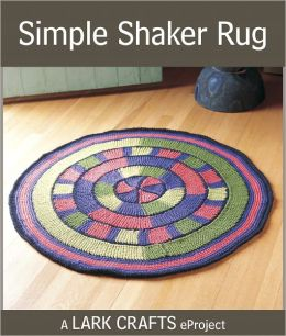 Simple Shaker Rug eProject from The Knitted Rug (PagePerfect NOOK Book)
