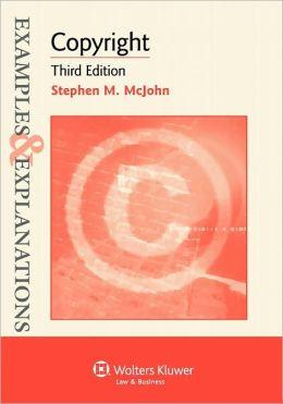 Examples & Explanations: Copyright 3e