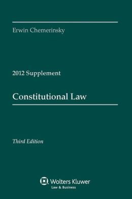Constitutional Law Cases Supplement 2012