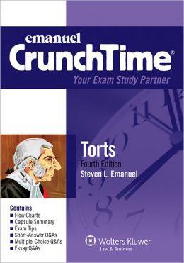 Crunchtime: Torts 3e Studydesk Bonus Pack