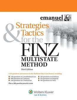 Strategies & Tactics for the finz Multistate Method 3e