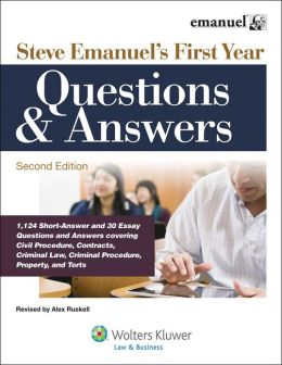 Steve Emanuel's First Year Questions & Answers, Second Edition