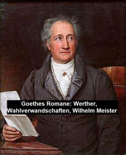 Goethe's Romane: Werther, Wahlverwandschaften, Wilhelm Meister