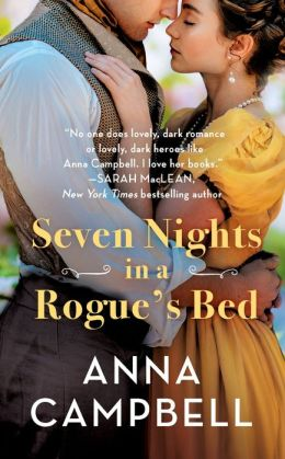 Seven Nights in a Rogue's Bed (Sons of Sin Series #1)