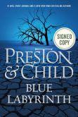 Book Cover Image. Title: Blue Labyrinth (Signed Book), Author: Douglas Preston
