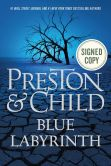 Book Cover Image. Title: Blue Labyrinth (Signed Book) (Special Agent Pendergast Series #14), Author: Douglas Preston
