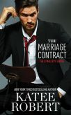 Book Cover Image. Title: The Marriage Contract, Author: Katee Robert