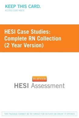 Hesi Case Study : RN 2012 2 Year