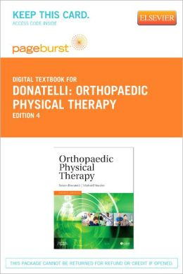 Orthopaedic Physical Therapy - Pageburst Digital Book (Retail Access Card)
