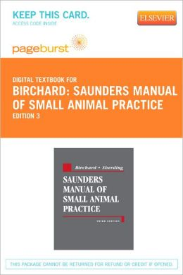 Saunders Manual of Small Animal Practice - Pageburst Digital Book (Retail Access Card)