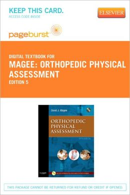 Orthopedic Physical Assessment - Pageburst Digital Book (Retail Access Card)