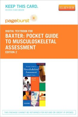 Pocket Guide to Musculoskeletal Assessment - Pageburst Digital Book (Retail Access Card)