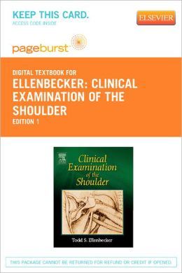 Clinical Examination of the Shoulder - Pageburst Digital Book (Retail Access Card)