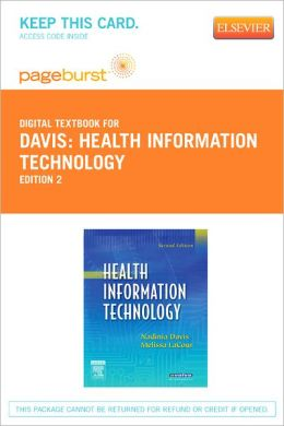 Health Information Technology - Pageburst Digital Book (Retail Access Card)