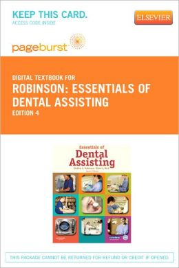 Essentials of Dental Assisting - Pageburst Digital Book (Retail Access Card)