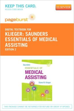 Saunders Essentials of Medical Assisting - Pageburst Digital Book (Retail Access Card)