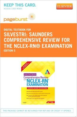Saunders Comprehensive Review for the NCLEX-RN? Examination - Pageburst Digital Book (Retail Access Card)
