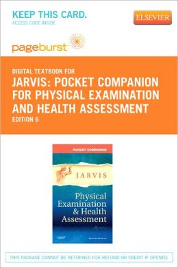 Pocket Companion for Physical Examination and Health Assessment - Pageburst Digital Book (Retail Access Card)