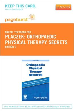 Orthopaedic Physical Therapy Secrets - Pageburst Digital Book (Retail Access Card)