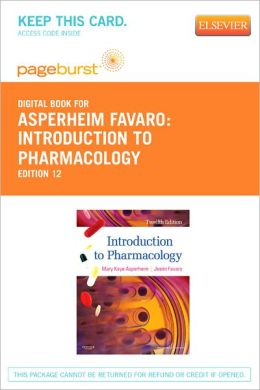 Introduction to Pharmacology - Pageburst Digital Book (Retail Access Card)