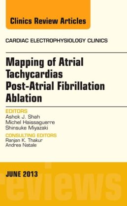 Mapping of Atrial Tachycardias post-Atrial Fibrillation Ablation, An Issue of Cardiac Electrophysiology Clinics