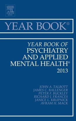Year Book of Psychiatry and Applied Mental Health 2013