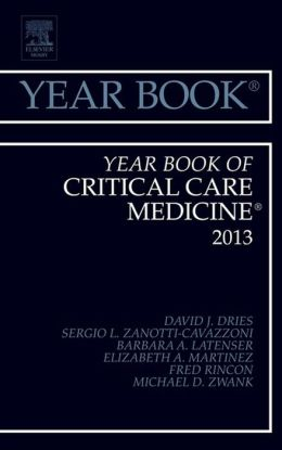 Year Book of Critical Care 2013,
