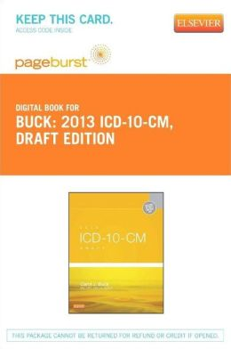 2013 ICD-10-CM Draft Edition - Pageburst E-Book on VitalSource (Retail Access Card)