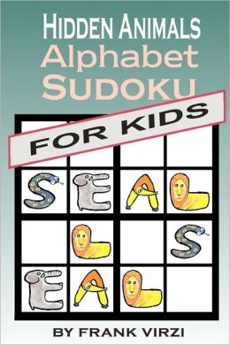 Hidden Animals Alphabet Sudoku for Kids